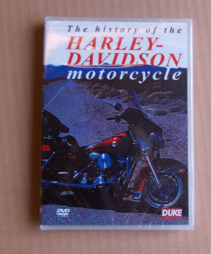 The History Of The HARLEY-DAVIDSON Motorcycle (DVD, 2009) FREE POST