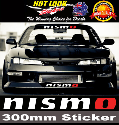 4X GTR NISSAN DECAL STICKER FOR CALIPER HIGH QUALITY REPRODUCTION BRAKE
