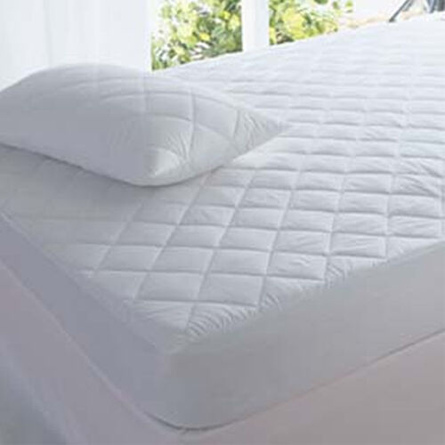 """Quilted Mattress Protector Fitted Cover Single Double King SuperKing Luxury Deep <br/> EXTRA DEEP 12""""/ HIGH LIVING BRANDED / FREE DELIVERY"""