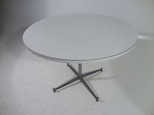 Original Paul McCobb Aluminum Base Dining Table 60's Mid Century Modern