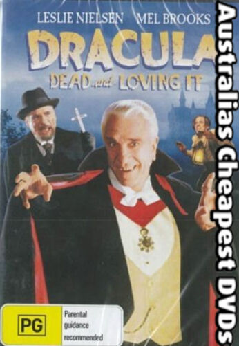 Dracula Dead And Loving It DVD NEW, FREE POSTAGE WITHIN AUSTRALIA REGION ALL