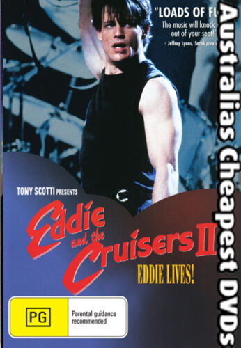 Eddie and the Cruisers II  DVD NEW, FREE POSTAGE WITHIN AUST REGION ALL