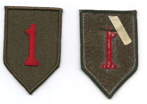 """1st Infantry Division Adhesive Back embroidered patch US Army """"The Big Red One"""" Patches - 36078"""