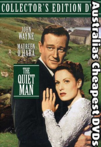 The Quiet Man DVD NEW, FREE POSTAGE WITHIN AUSTRALIA REGION ALL