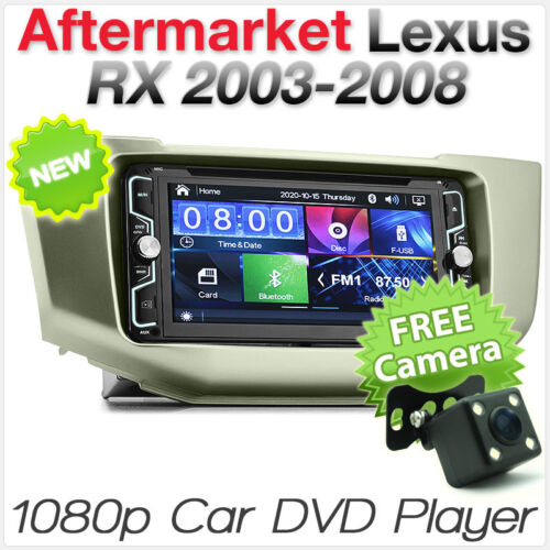 Car DVD MP3 Player For Toyota Harrier 240 300 Lexus RX Stereo Radio Fascia Kit