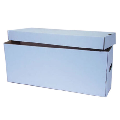 Cardboard Comic Storage Box with Lid - Large - Holds up to 350 Comics