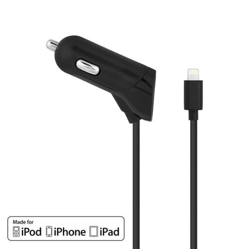 AT&T Quick Charge Lightning Car Charger For Apple iPhone 5 5S 6 Plus 7 8 X SE