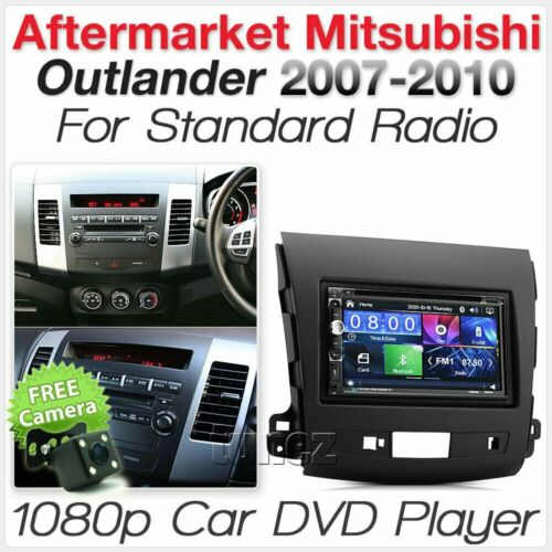 Mitsubishi Outlander 2007-2010 Car DVD Player USB Stereo Radio MP3 Fascia Kit TU