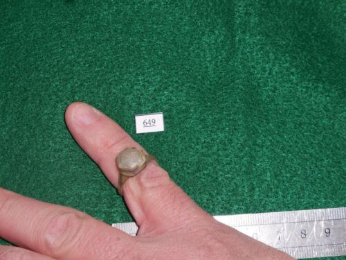 Very Old Ring, Medieval to Colonial Era, Found in Northern Europe