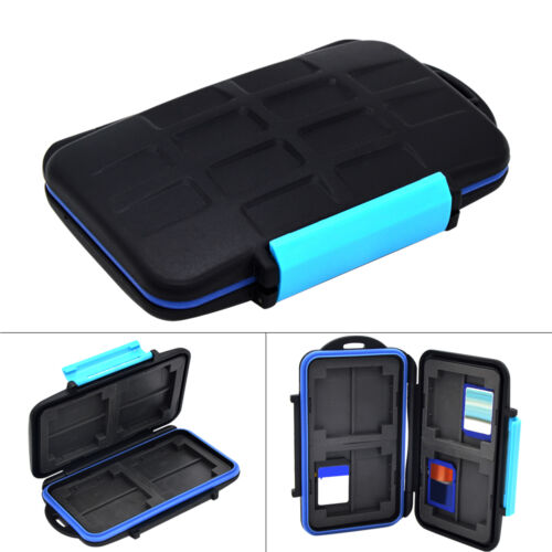 8 Slot Memory Card Case Holder for 8 x SDHC Cards MC-SD8 Waterproof Anti-shock