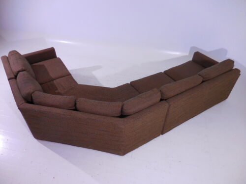 Vintage Harvey Probber Low Floating 3pc Sectional Sofa Mid Century Modern