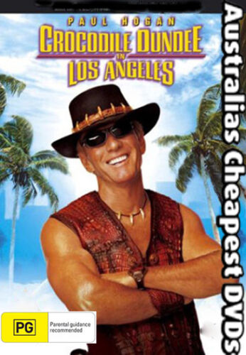 Crocodile Dundee 3 In Los Angeles DVD NEW, FREE POSTAGE IN AUSTRALIA REGION  ALL