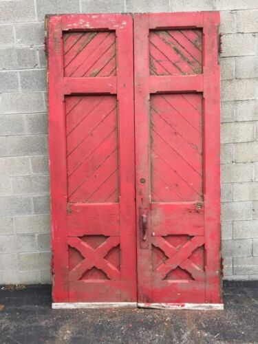 Cm 61 One Pair Oversize 3 Inch Antique Entrance Double Doors
