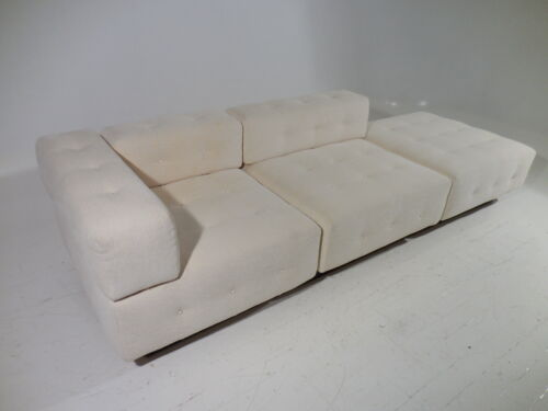 Vintage Harvey Probber Modular Tufted Cube Free Standing Daybed/Chaise/Sofa