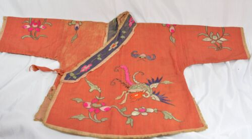 Antique Chinese Child Robe  ~ Small size~