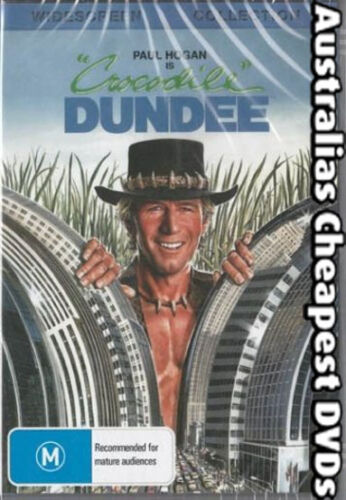 Crocodile Dundee  DVD NEW, FREE POSTAGE WITHIN AUSTRALIA REGION ALL