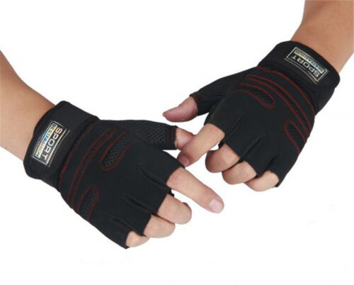 Gym Building Training Fitness Gloves Sports Weight Lifting Workout Exercise LJ