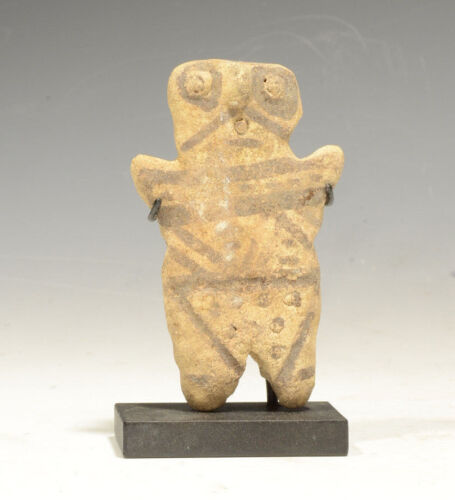 Pre-Columbian Chancay Pottery Childs Toy Nice Condition 1100-1400 AD