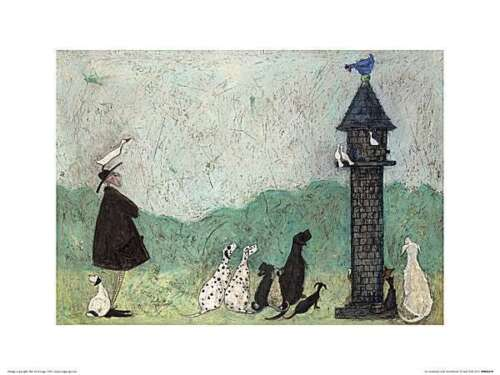 An Audience with Sweetheart Sam Toft Art Print