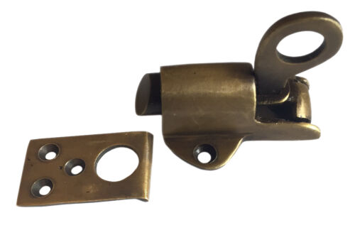 Spring Loaded Window Transom Latch Lock Catch