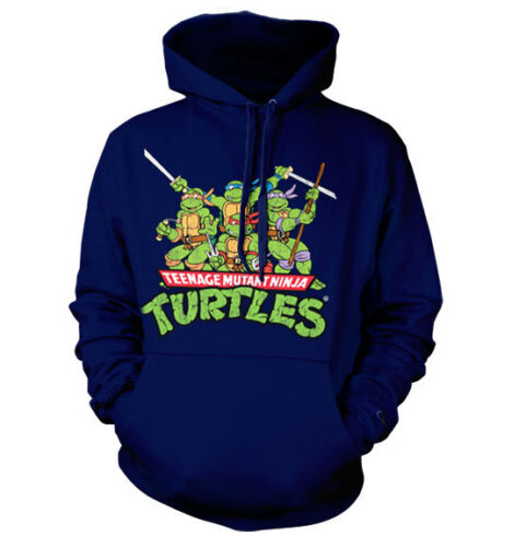 Officially Licensed TMNT - Distressed Group Hoodie S-XXL Sizes