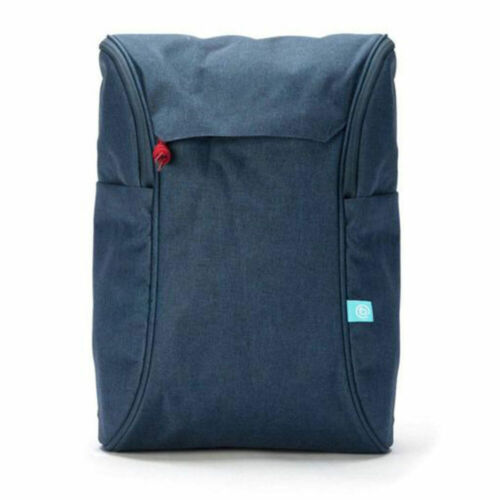"Booq DP-NVR Daypack Backpack Carry Bag for 13-15"" Laptop/Macbook Navy Back Pack"