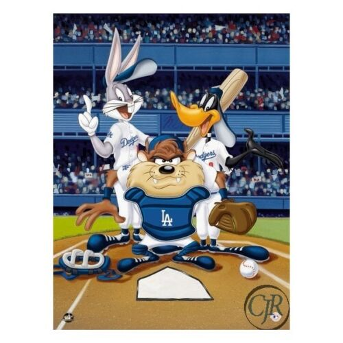 WARNER BROTHERS ** AT THE PLATE DODGERS