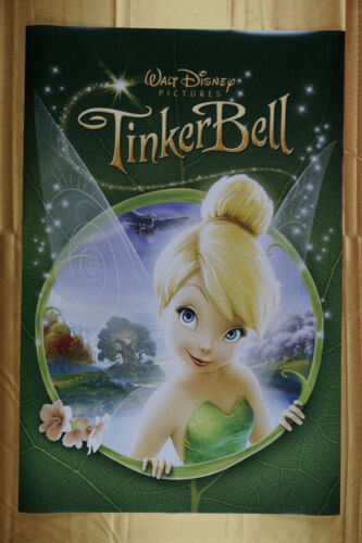 Disney Tinker Bell Fairy Movie Picture Poster Children 24X36 New   TINK