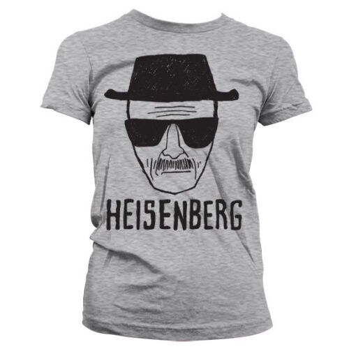 Officially Licensed Breaking Bad- Heisenberg Sketch Women T-Shirt S-XXL Sizes