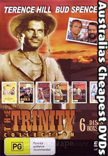 Terrence Hill & Bud Spencer - The Trinity Collection DVD NEW, FREE POST IN AUST