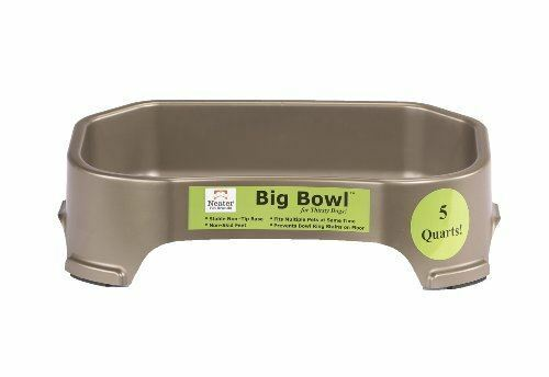 1.25 Gallon Large Dog Water Dish | Super Sized 160 Ounce | Neater Pet Brands
