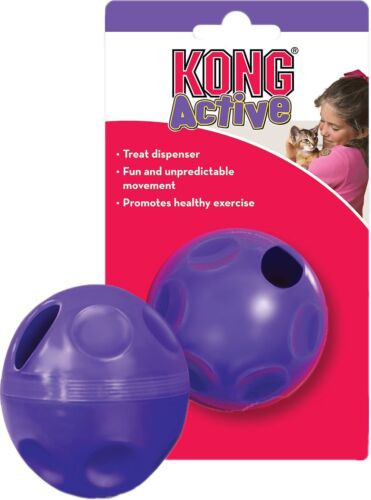 Kong Active Treat Dispenser For Cats and Toy Breeds(Free Shipping in USA)