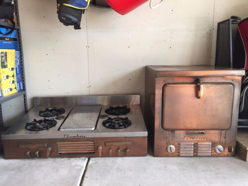 Antique Chambers cooktop and wall oven