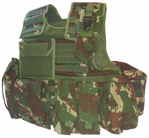 New XLarge DPM Plate Carrier W/Soft body armor inserts Vest MOLLEOther Current Field Gear - 36071