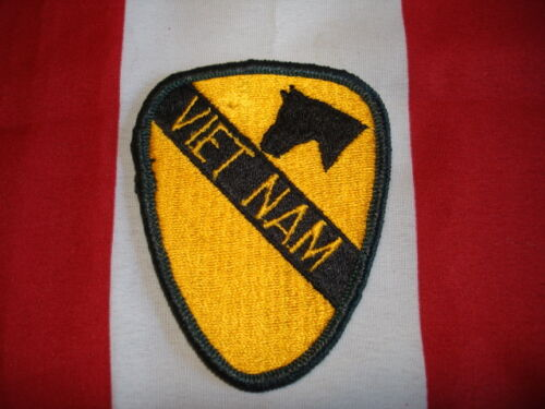 1st Cavalry Army Patch Vietnam 3 X 2 Mini New Embroidered Hat Jacket Bag Coat Marine Corps - 66531