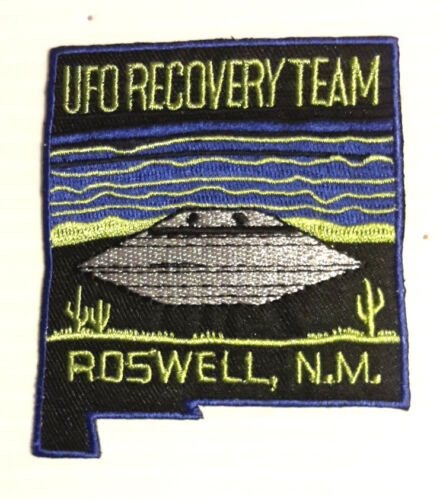 Roswell Ufo Recovery Team Logo 3
