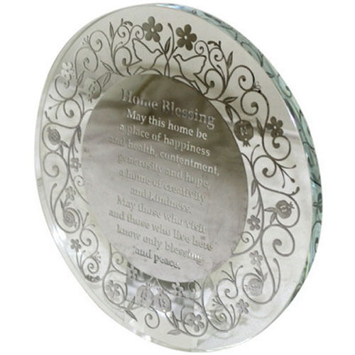 CRYSTAL STAND 20 CM- ENGLISH HOME BLESSING