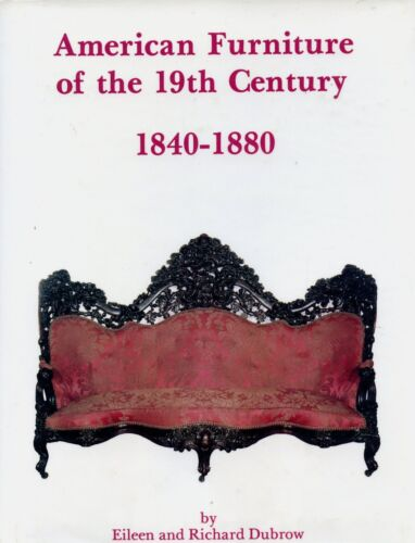 American Victorian Furniture 1840-1880 - Types Makers / Illustrated Book