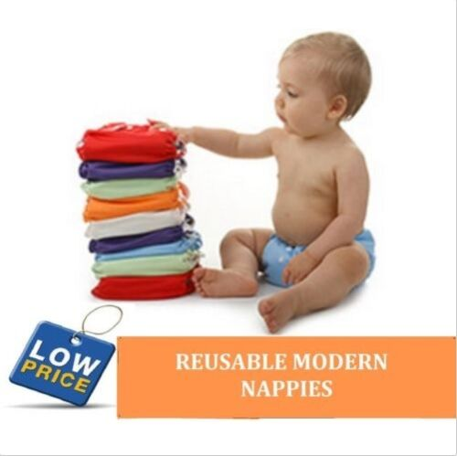 Reusable modern Baby Cloth Nappies Diapers Adjustable bulk newborn nappy <br/> BUY MORE AND SAVE $$  **QUALITY NAPPIES AT BEST PRICE**