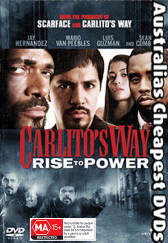 Carlito's Way Rise to Power  DVD NEW, FREE POSTAGE WITHIN AUSTRALIA REGION ALL