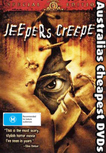 Jeepers Creepers DVD NEW, FREE POSTAGE WITHIN AUSTRALIA REGION ALL