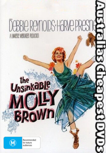 The Unsinkable Molly Brown DVD NEW, FREE POSTAGE WITHIN AUSTRALIA REGION ALL