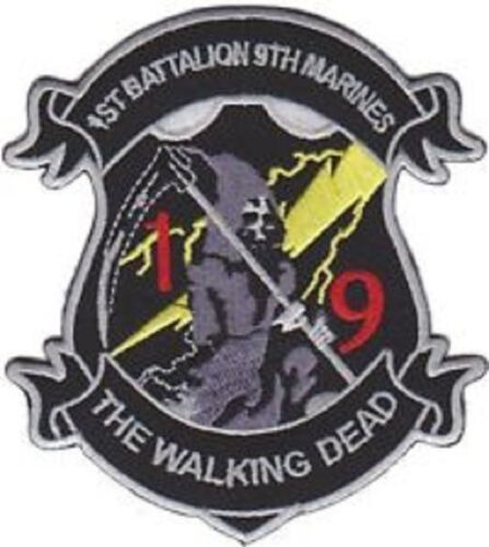 USMC 1st Battalion 9th Marines The Walking Dead Patch NEW!!!Other Militaria (Date Unknown) - 66534