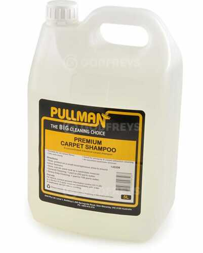 Pullman Premium Carpet Shampoo 5L Extraction Cleaning  Soils Easily