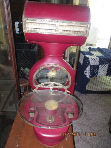 Toledo Ohio Scale  Style 353  Number 73963 Burgundy Red Working