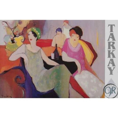 TARKAY ** IN THE LOUNGE **  POSTER
