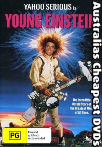 YOUNG EINSTEIN DVD NEW, FREE POSTAGE WITHIN AUSTRALIA REGION 4
