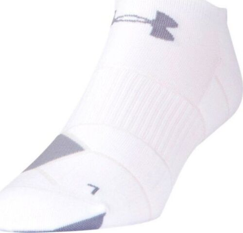 Under Armour Men's Launch No Show Running Socks- Style 1281962-100