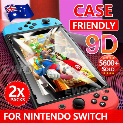 2 X EWOOK Nintendo Switch Tempered Glass Screen Protector for Nintendo Switch