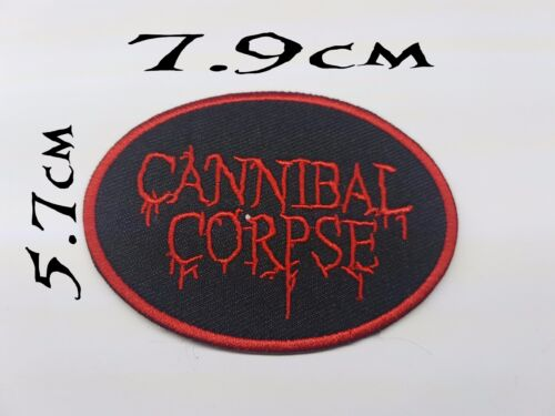 Quality Iron/Sew on Cannibal Corpse patch biker Old school Death Metal